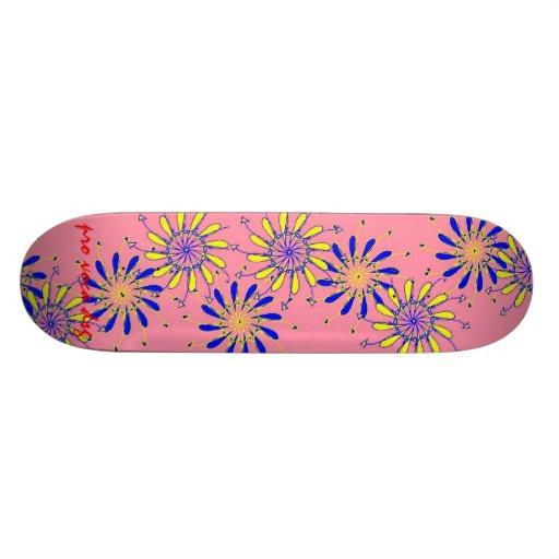 Pro Voca Design Pinflower Skatedeck Skate Board Decks