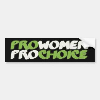 Pro Women Prochoice Bumper Sticker