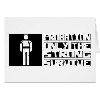 Probation Survive Card