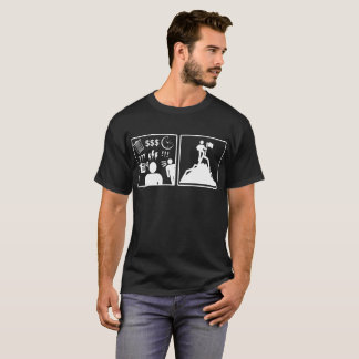 Problem Solution Mountain Climbing Funny Tshirt