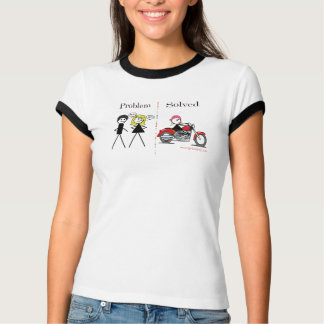 Problem Solved-Girl Only T-Shirt
