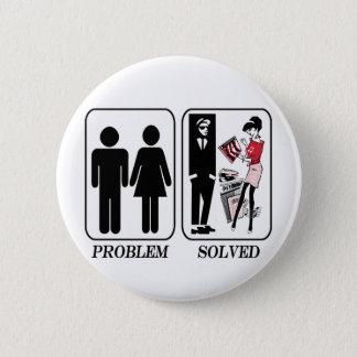 Problem solved ska 2 6 cm round badge