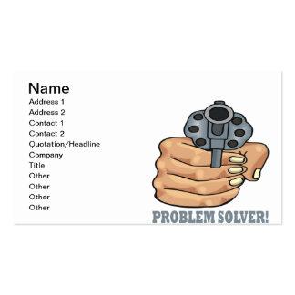 Problem Solver Pack Of Standard Business Cards