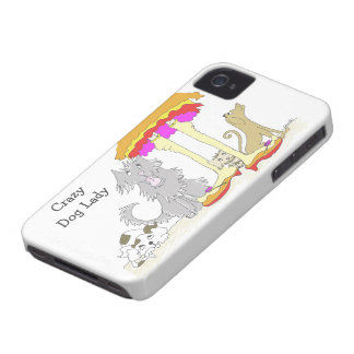 Proceeds to Animal Charity Crazy Dog Lady iPhone 4 Cases