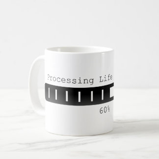 Processing life decisions Coffee Mug Black