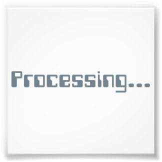 Processing Photo