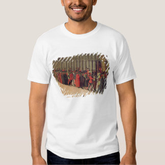 Procession in St. Mark's Square, detail of musicia Tshirts