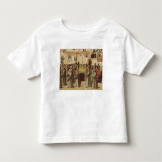 Procession in the St. Mark's Square, detail of the Tee Shirt