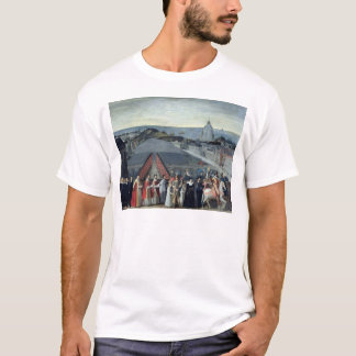Procession of the Brotherhood of Saint-Michel T-Shirt