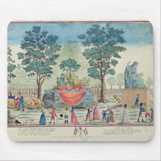 Procession of the Chariot of Agriculture Mouse Pad