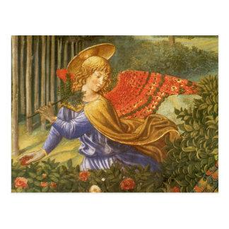 Procession of the Magi, Renaissance Angel Art Postcard