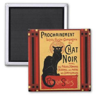Prochainement Chat Noir Square Magnet
