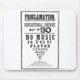 Proclamation 30 mouse pad