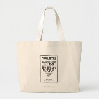 Proclamation 30 tote bag