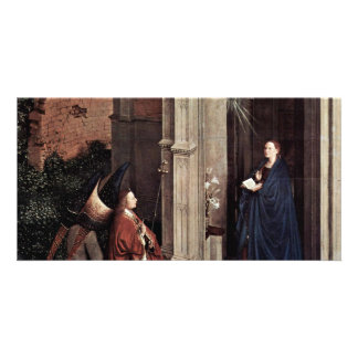 Proclamation By Eyck Jan Van (Best Quality) Customized Photo Card