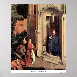 Proclamation by Jan Van Eyck Print