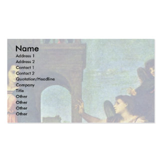 Proclamation By Sarto Andrea Del Business Card