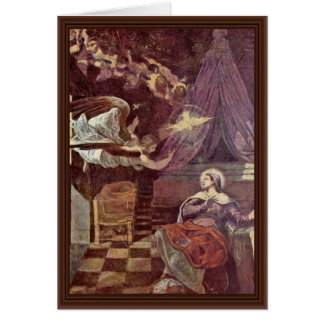 Proclamation By Tintoretto Jacopo (Best Quality) Card
