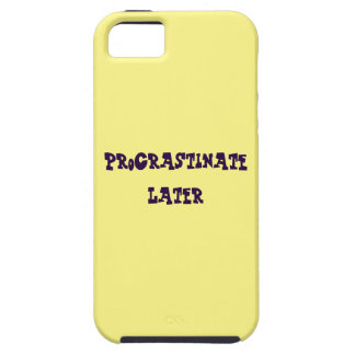 Procrastination Captions CUSTOMIZE iPhone 5 Covers