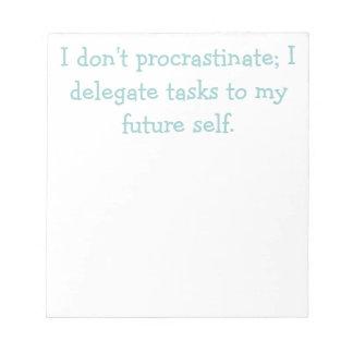 Procrastination Notepads