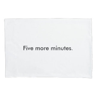 Procrastination Pillowcase