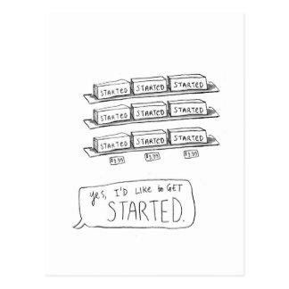 Procrastination Shoppe Postcard