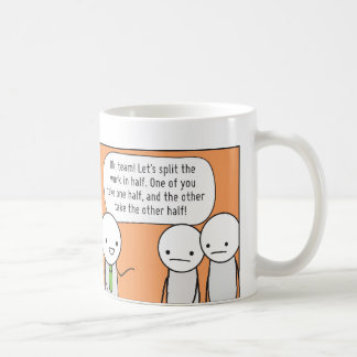 Procrastinator's Cup: The Delegator Coffee Mug