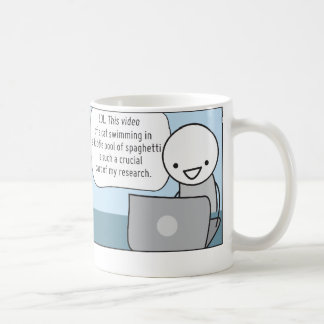 Procrastinator's Cup: The Researcher Coffee Mug