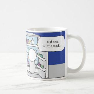 Procrastinator's Cup: The Snacker Coffee Mug