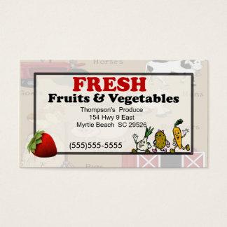 Produce Business Card