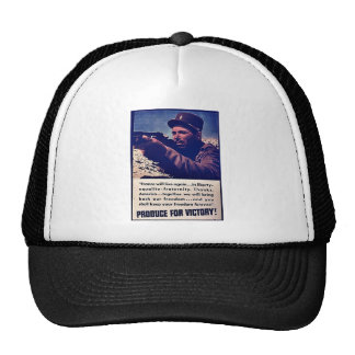 Produce For Victory! Mesh Hat