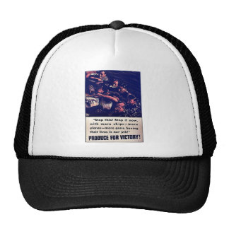 Produce For Victory! Hat