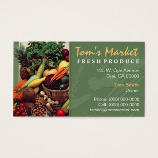 Produce Market Business Card