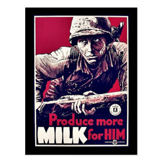 Produce More Milk For Him Postcards