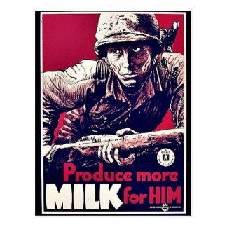 Produce More Milk For Him Post Card