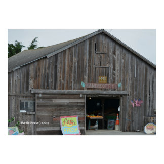 Produce Stand Poster