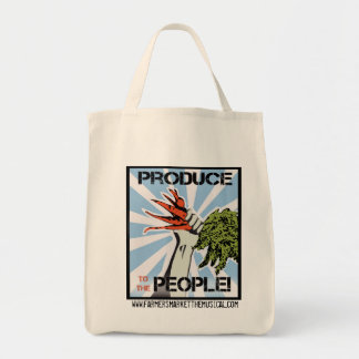 Produce To The People Reusable Grocery Bag
