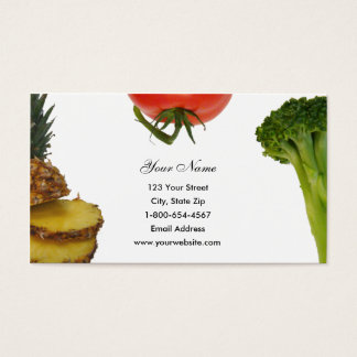 Produce Trio Business Cards