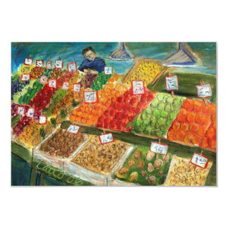 Produce Vendor Invite Cards (Pike Place Market)