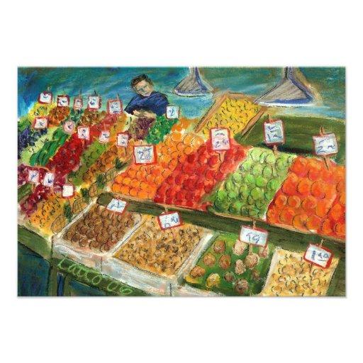 Produce Vendor Invite Cards (Pike Place Market)