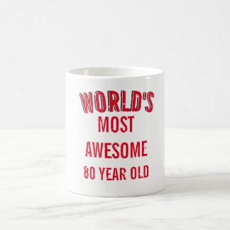 Produced in the years 80 coffee mug