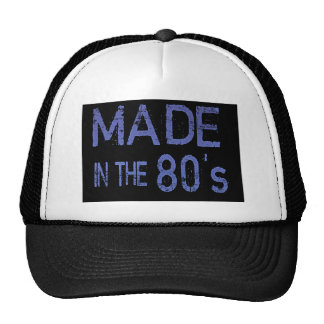 Produced in years 80 cap