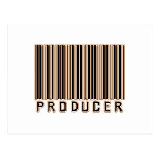 Producer Barcode Postcard