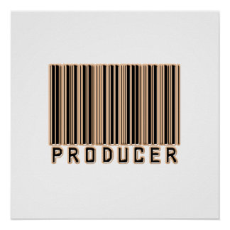 Producer Barcode Posters