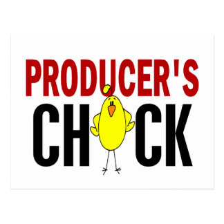 PRODUCER'S CHICK POSTCARD