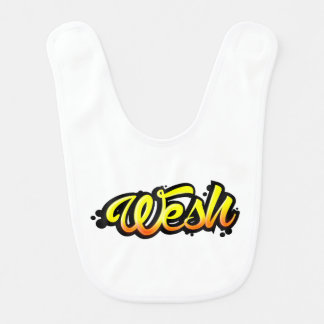 Product graffiti wesh bib