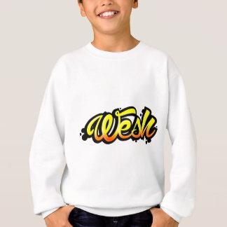 Product graffiti wesh sweatshirt