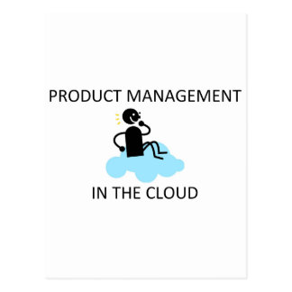 Product Management in the Cloud Postcard
