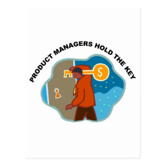 Product Managers Hold the Key Postcard