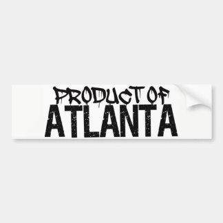 PRODUCT OF ATLANTA, GA BUMPER STICKER! BUMPER STICKER